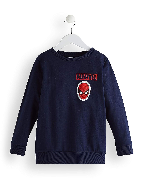 RED WAGON Boys Amazing Spiderman Jumper, Blue (Navy), 110 ...