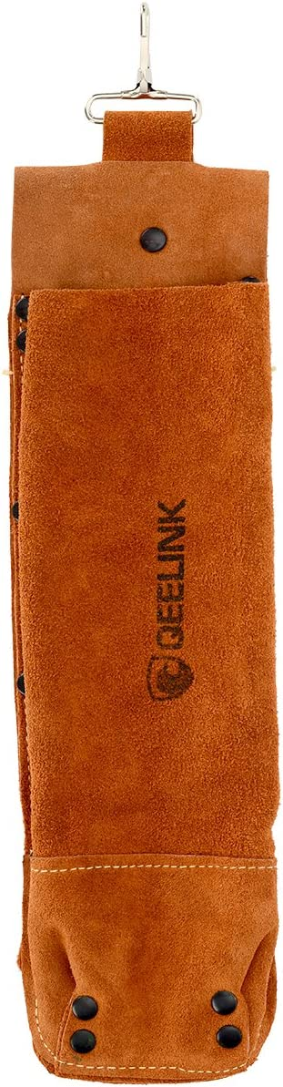 Welding Tools Rod Bag 1 PACK Welding Electrode Storage Can Leather Rod Holder by QeeLink
