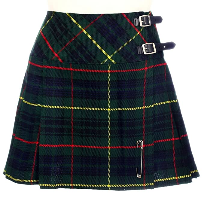 The Scotland Kilt Company Nuevo de Mujer Caza Stewart de Cuadros Escoceses Mini Falda Escocesa Billie Falda Talla 6-22UK: Amazon.es: Ropa y accesorios