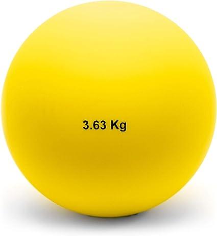 Shot Put 3.63kg 8lbs Cast Iron Weight Shot Ball for Outdoor Track /& Field