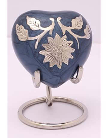 UrnsWithLove, pequeño corazón de recuerdo, urna de cremación para cenizas, miniurna conmemorativa en