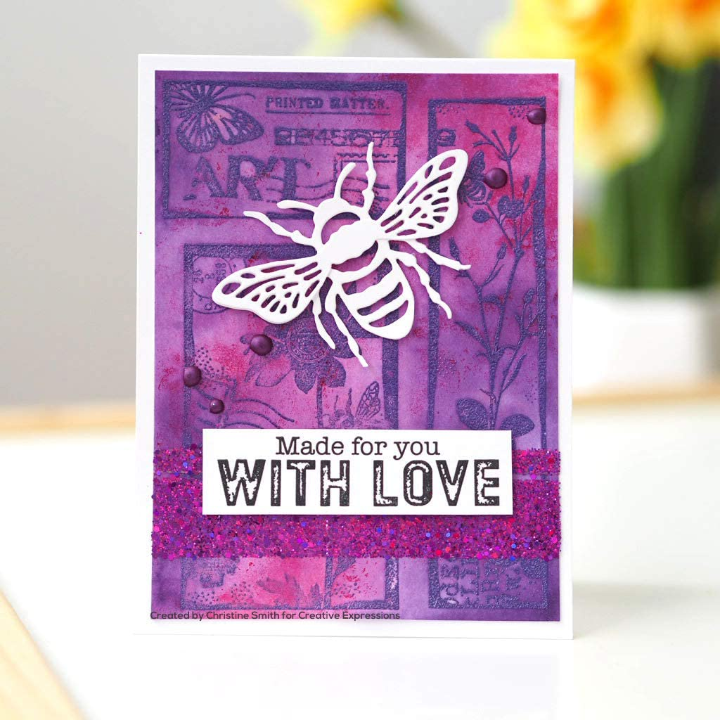 Creative Expressions Paper Cuts Bumble Bee Edger Craft Die