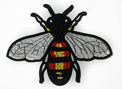 830bf4849 Image Unavailable. Image not available for. Color: Bee Patch Wasp Patch  Gucci Patch Embroidery ...