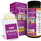 UTI Urine Test Strips. Urinary Tract Infection Strip. Simple, Fast & Accurate Results. Urinalysis Home Testing Stick Kit for Ketone, pH, Glucose, Nitrite, Leukocytes & more to Help Monitor your Health.
