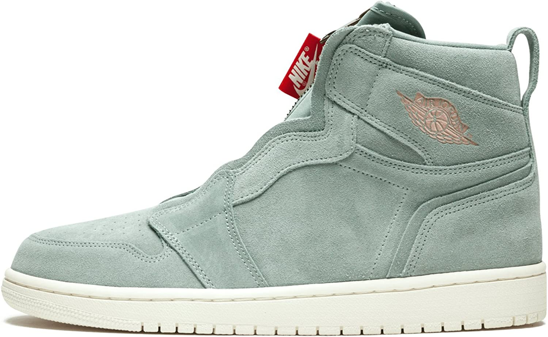 Endulzar flor Arbitraje  Amazon.com | Nike Jordan Air Jordan 1 High Zip Women's Shoes Micagreen/Red  aq3742-305 (5 B(M) US) | Running