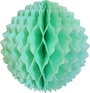 product image for 3-Pack 7 Inch Honeycomb Spike Ball Decoration, Mint