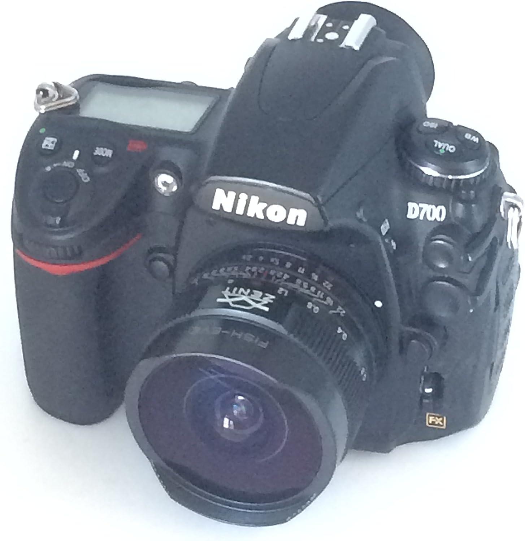 Ojo de Pez zenitar 2,8/16 MC Lente para Nikon AI cámara réflex ...