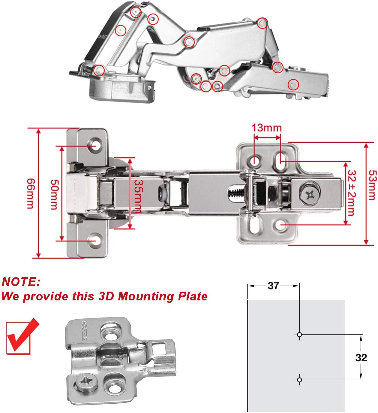2 Stück Durable Messing O Form Schäkel Outdoor Seil   Armband