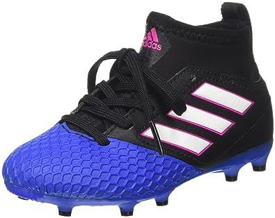 best service 79f0f 3101b adidas Ace 17.3 Fg J, Chaussures de Football Entrainement Unisexe - enfant,  Noir (