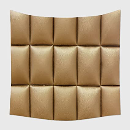 Home Decor Tapestry Wall Hanging Brown Leather Sofa Texture For Bedroom  Living Room Dorm