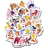 """WINX CLUB Small PINK 12/"""" BACKPACK School Bag Travel Tote w//Drink Bottle NEW!"""
