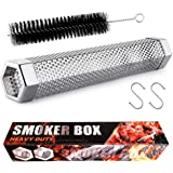Smoke Tube - 12 inches Smoke Tube for Pellet Grill 5 Hours of Billowing Smoke, Pellet Smoker Tube for All Grill or Smoker, Ho