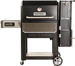 Masterbuilt MB20041220 Gravity Series 1050 XL Digital Charcoal Grill + Smoker, Black
