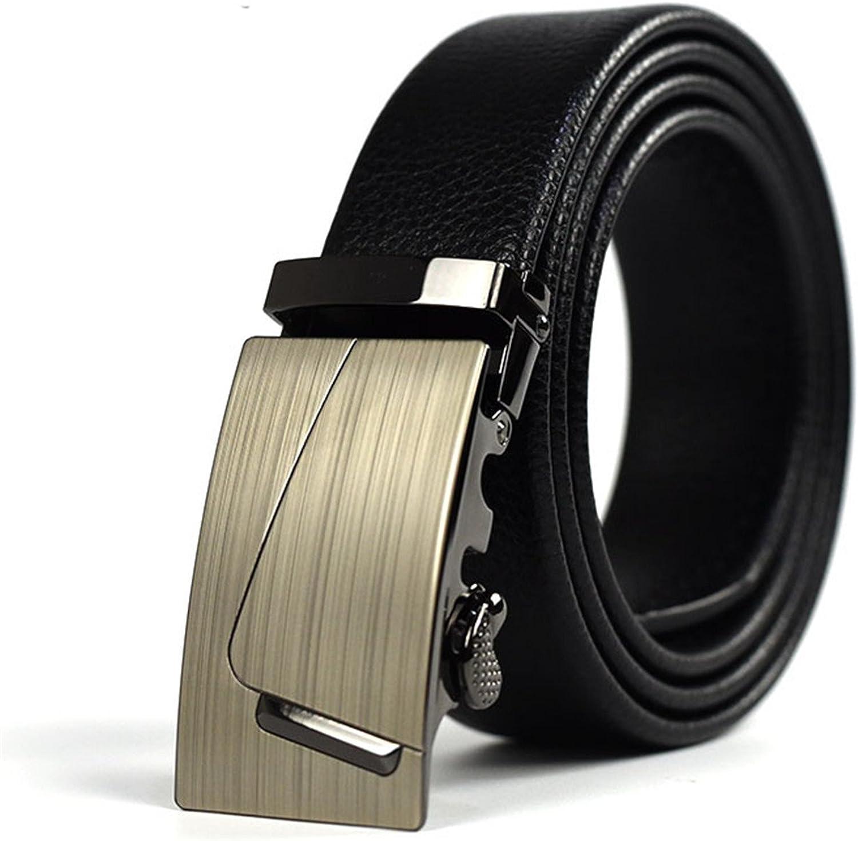 Shining4U Fashion Men Cummerbunds Male Belt Business Formal Waist Belt 110-130cm