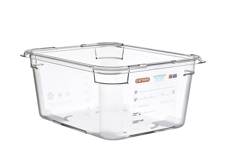 araven 09823 Polycarbonate Food Box, BPA Free, 9.51 quart