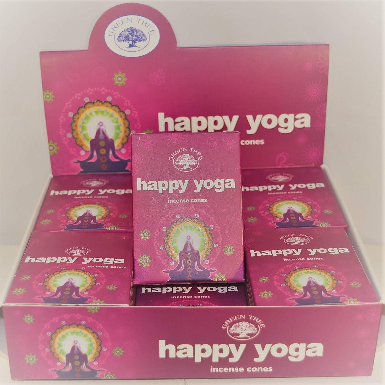 Happy Yoga - Conos de Masala para árbol de Color Verde, 1 ...