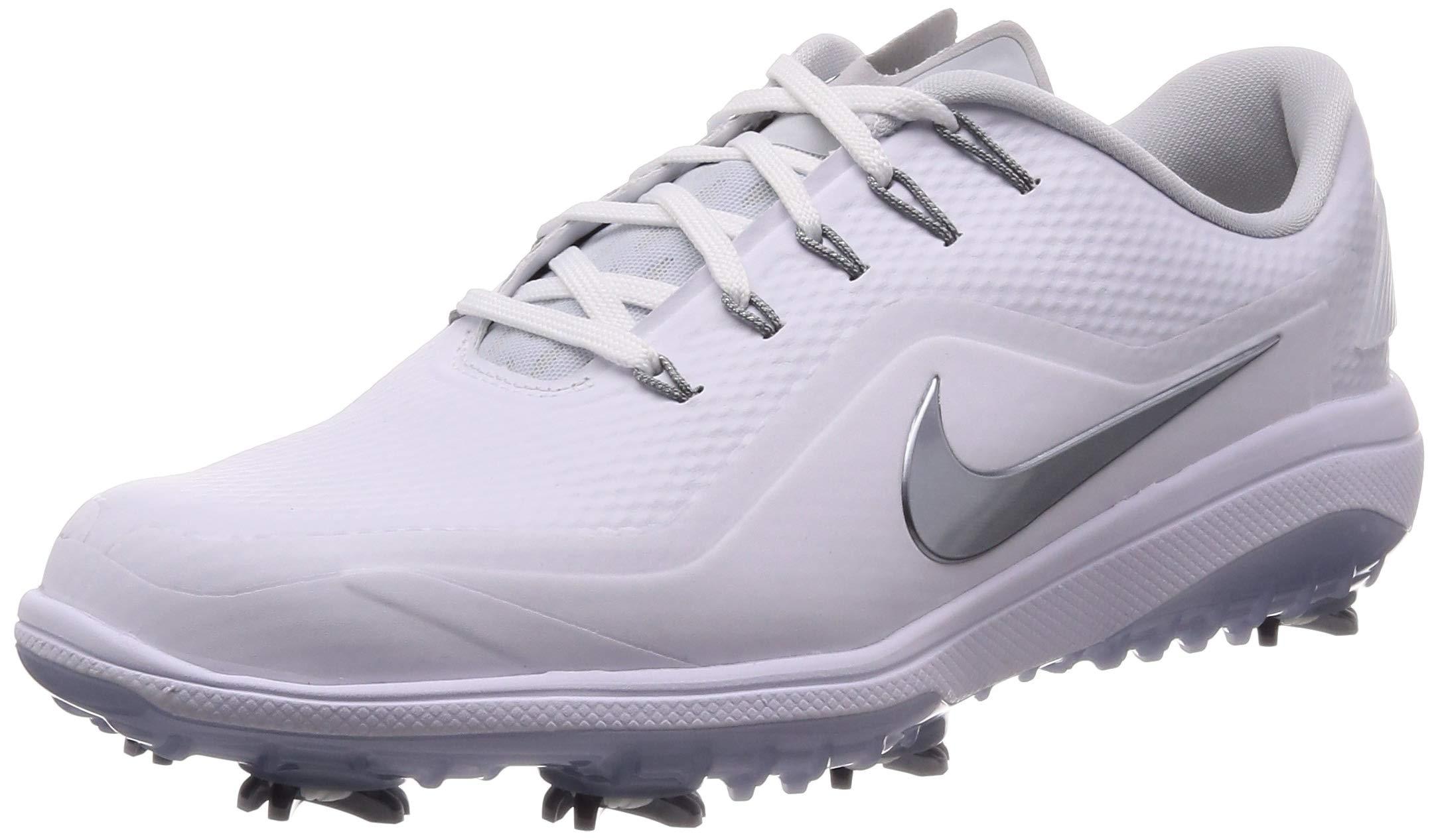 Nike React Vapor 2 Golf Shoes 2019 White/Metallic Cool Gray/White/Black Medium 9.5 by Nike