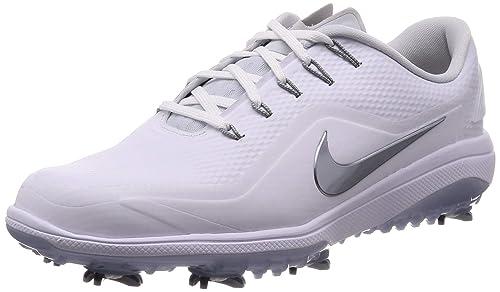 a6a9b05af33b2 Nike React Vapor 2 Golf Shoes 2019 White Metallic Cool Gray White Black