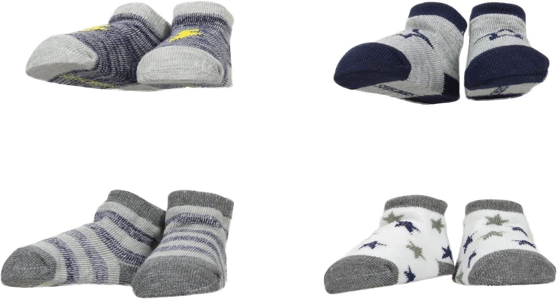 Skechers Infant Boys 4 Pack Bootie Sock