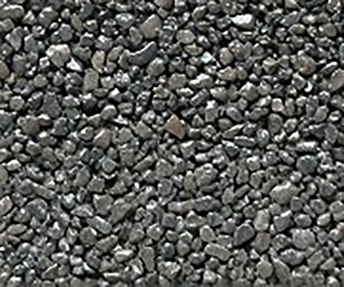 Safe & Non-Toxic {Small Size, 0.12'' Inch} 10 Pound Bag of Gravel & Pebbles Decor Made of Genuine Quartz for Freshwater Aquarium w/Simple Metallic Edgy Iridescent Shiny Modern Style [Black] by mySimple Products