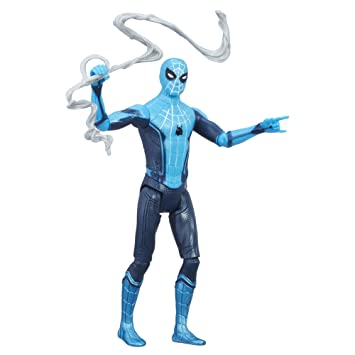 Marvel Spider Man Homecoming Tech Suit Spider Man Figure, Multi Color (6 inch)