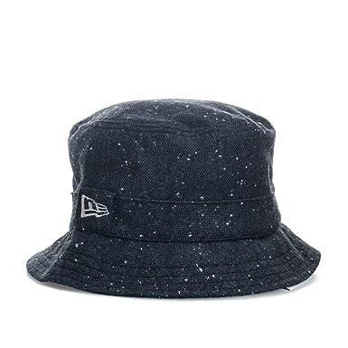 7b02fc39f New Era Mens Buck Tweed Bucket Hat in Navy - L: New Era: Amazon.co ...