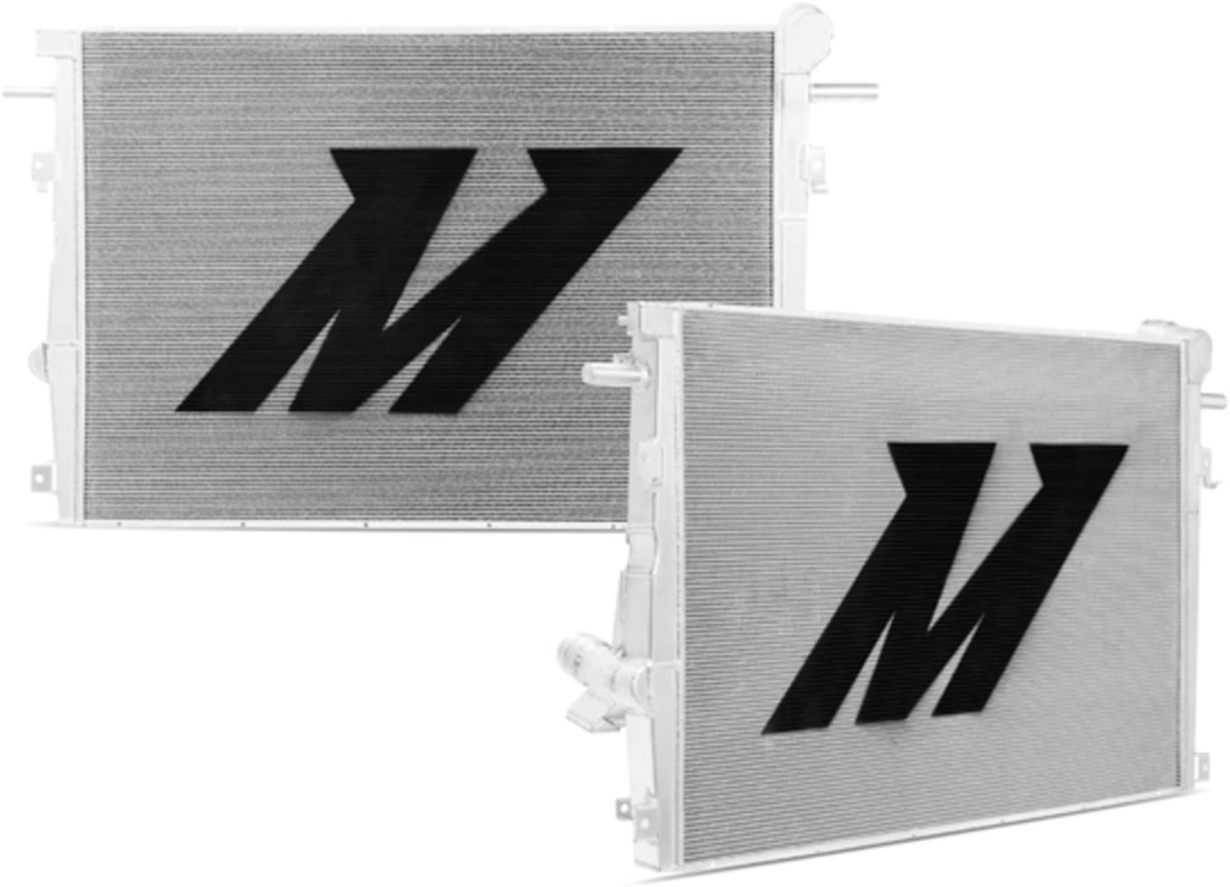 Mishimoto MMRAD-F2D-11 Ford 6.7L Powerstroke Aluminum Primary Radiator Silver 2011+