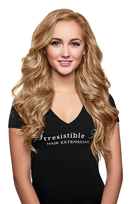 Amazon Irresistible Me Clip In Hair Extensions Golden Blonde
