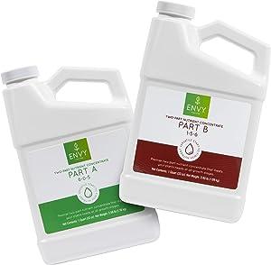 ENVY Part A (6-0-5) & Part B (1-5-6) - Two-Part Base Nutrients for Hydroponics, Soil & Coir (A/B Combo (Quarts)