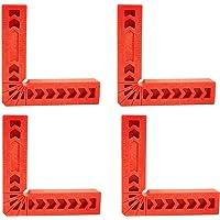 Haakse klemhulp Positioneringsvierkanten L Type haakse klemmen Kunststof hoekbeugels 90 graden hoekklem Geschikt voor…
