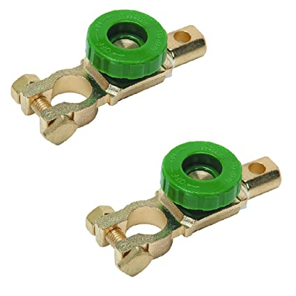 Amazon com: New (Set of 2) Battery Disconnect Switch use it