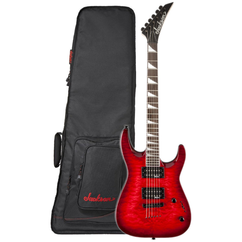 Jackson js32tq Dinky, dka, RW Fb, M² TRD - Guitarra eléctrica w/funda: Amazon.es: Instrumentos musicales