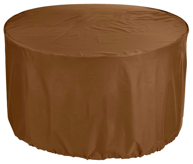 KaufPirat Premium Telone di Copertura rossoondo Ø 265 x 110 cm mobili da Giardino Tavolo da Giardino Copertura Copertura Copertura Copertura Copertura Copertura caffellatte
