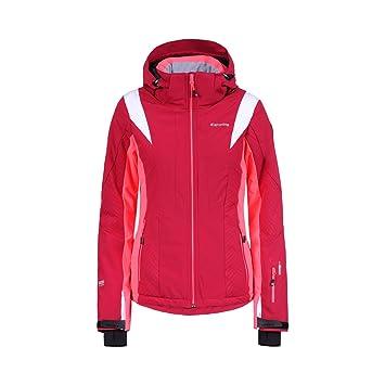 ICEPEAK Nicki Chaqueta de esquí para Mujer, Mujer, Color Rojo (Carmine), tamaño 44: Amazon.es: Deportes y aire libre