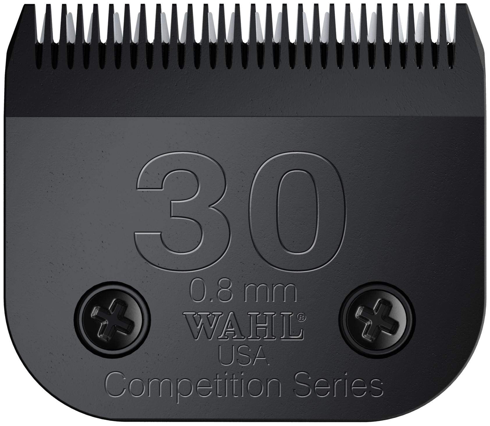 Wahl Professional Animal Ultimate Competition Series #30 Detachable Blade for Wahl's KM10, KM5, KM2, KM2 Deluxe, Power Grip, SS-Pro, and Stable Pro Plus (#2355-500)