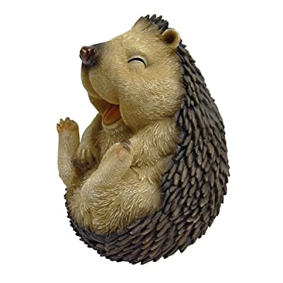 Design Toscano Roly-Poly Laughing Hedgehog Statue, Small : Garden & Outdoor
