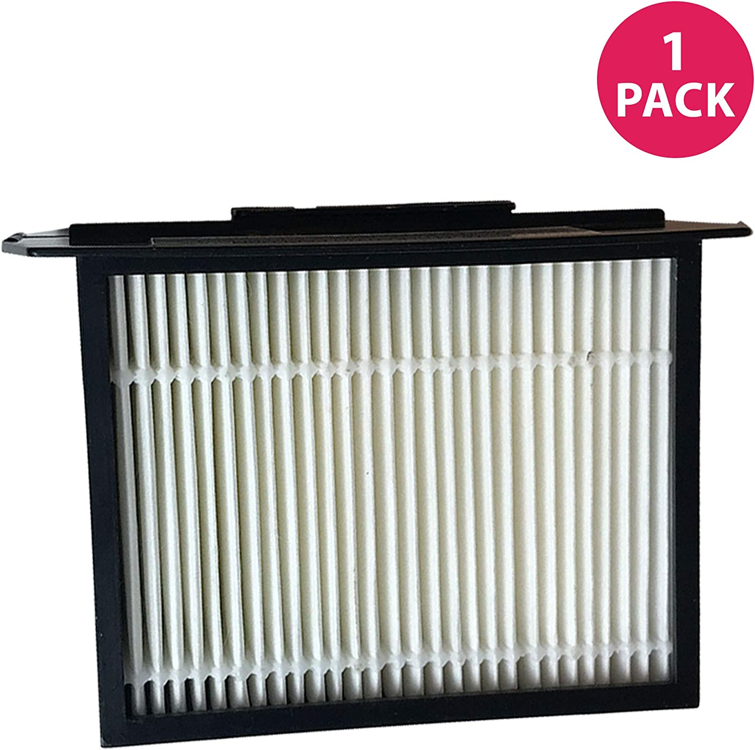 Crucial Vacuum Replacement Vacuum Filter - Compatible with Dirt Devil Part # 3LK0540001 and Dirt Devil F13 HEPA Style Filter & Foam Pre-Filter Models, Vacs - Fits Reaction Dual Cyclonic (1 Pack)