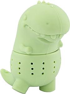 Paladone Tearex Dinosaur Silicone Tea Infuser - Reusable Loose Leaf Tea Steeper