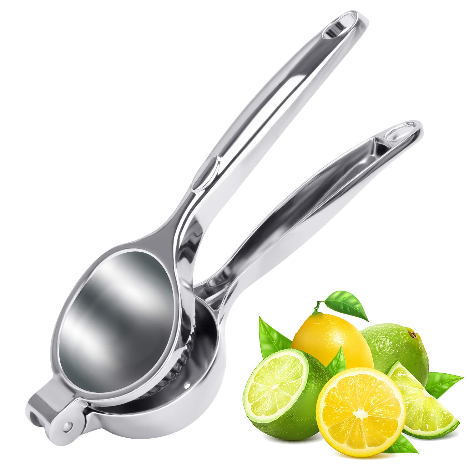Lemon Lime Squeezer Manual Citrus Press Juicer, Stainless Steel