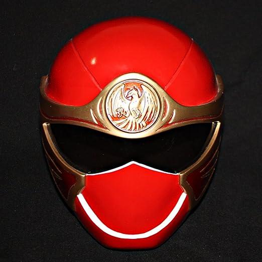 Amazon Halloween Costume Power Ranger Helmet Mask Red