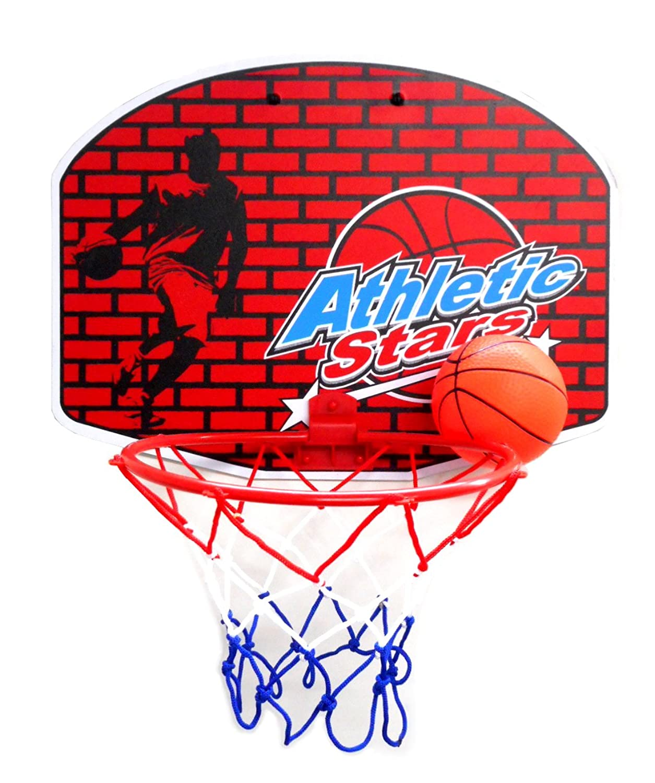 バスケットゴール ミニバスケット 室内屋外兼用 空気ポンプ付き 8セット 耐久性