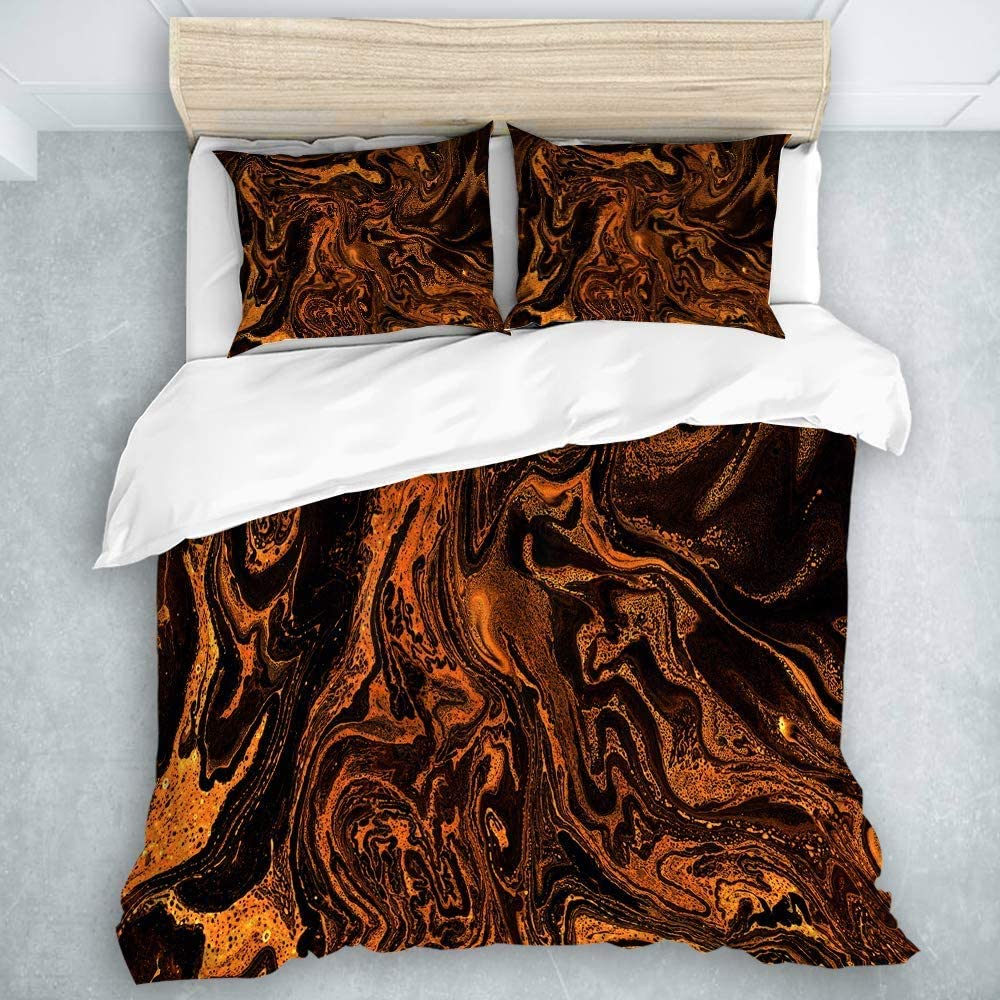 Amazon Com 9903 Akellys3 3 Piece Duvet Cover Marble Beautiful Abstract Horizontal Background Best Modern Style For Men And Women Twin Size Home Kitchen