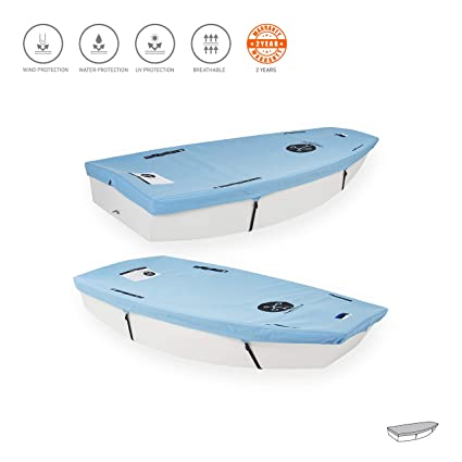Amazon com : Knots12 - Optimist Dinghy Sailboat Bottom Cover for