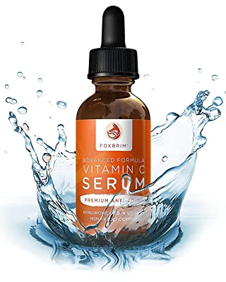 Foxbrim Vitamin C Serum for Face with Hyaluronic Acid