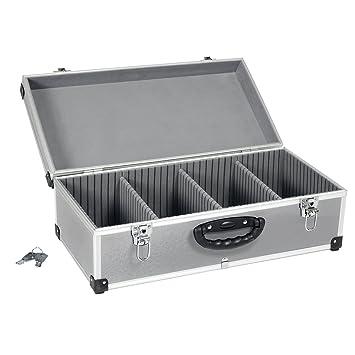 Neopren Lange Lebensdauer Boxen Dj Cd-koffer Alukoffer Für 60 Cds Mit Schlüssel Dj Case Box Innenraum Möbel & Wohnen