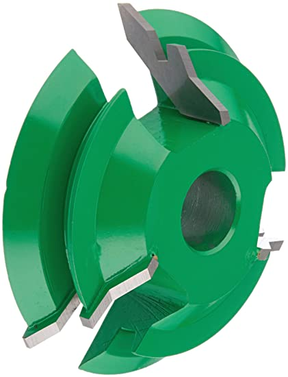 Grizzly C2125 Shaper Cutter with Double Lock Miter and 3/4-Inch Bore