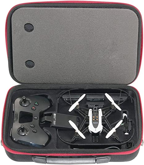 PENIVO Bolsa de Hombro Caja de Almacenamiento para Parrot Mambo Flypad Remote Control Portable Maletín de Transporte: Amazon.es: Juguetes y juegos