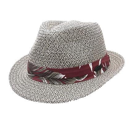 bbc626faf86 Stetson - Trilby Hat Men Rowlett Toyo - Size XL  Amazon.co.uk  Clothing