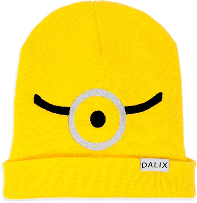 DALIX - Gorro de Disfraz de Minion, Color Amarillo: Amazon.es ...