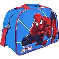 Disney - Disney - Sac de Sport Spiderman, 13210_Sac de sport Enfant Marvel Spiderman_Perletti - Bleu - 40x29x20 cm